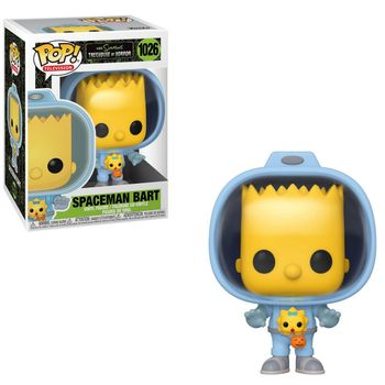 POP! Television: The Simpsons Treehouse of Horror - Spaceman Bart with  Maggie Vinyl Figure