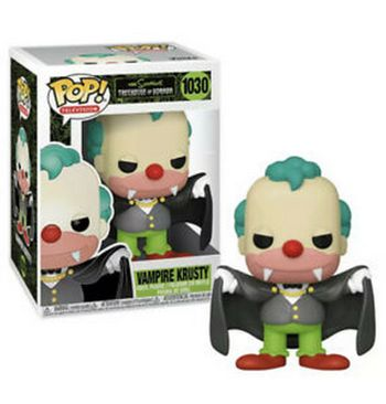 POP! Television: The Simpsons Treehouse of Horror - Vampire Krusty Vinyl Figure