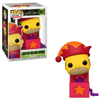 POP! Television: The Simpsons Treehouse of Horror - Jack-In-The-Box Homer Vinyl Figure