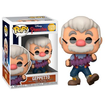 POP! Disney: Pinocchio - Geppetto with Accordion Vinyl Figure