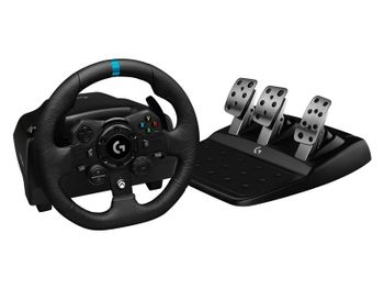 LOGITECH G923 Racing Wheel and Pedals - USB, EMEA, MS, EU (Xbox One, PC)
