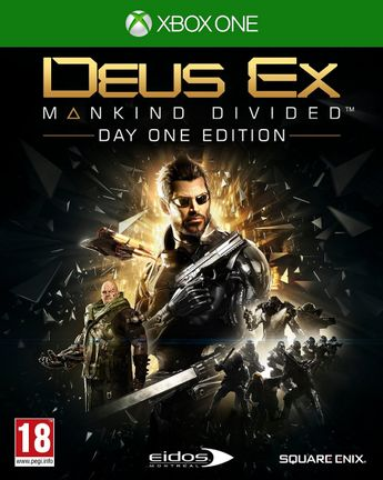 Xbox One Deus Ex: Mankind Divided [USED] (Grade A)