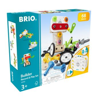 BRIO - Builder Record & Play Set