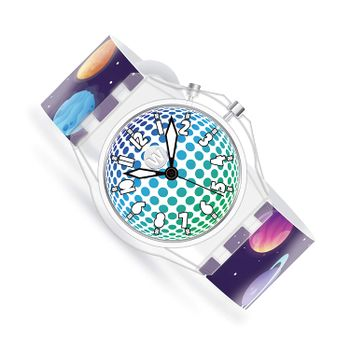 Watchitude - GLOW Watch for kids - Deep Space