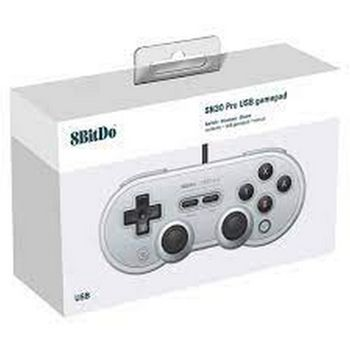 8BitDo SN30 Pro Wired Gamepad - Gray Edition (Switch, PC, Mobile)