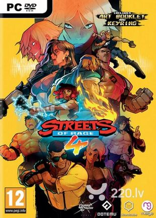 PC Streets of Rage 4