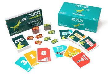 On A Scale Of One To T-Rex - Boardgame (EN)