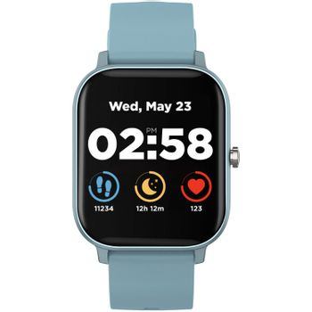 CANYON SW-74 Wildberry Smart Watch - IP67 Waterproof, Blue (Android, IOS)