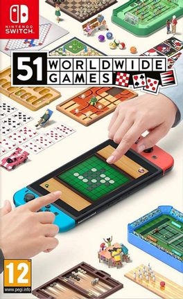 SWITCH 51 Worldwide Games [USED] (Grade A)