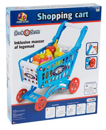 3-2-6 - Shopping cart with playfood