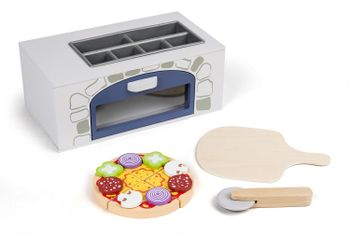3-2-6 - Wooden pizza oven with accessories