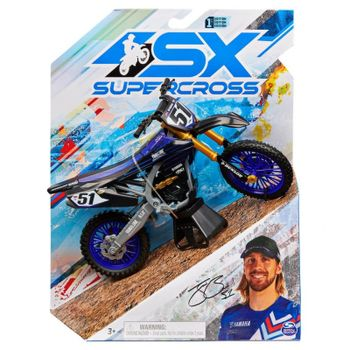 Supercross - 1:10 Die Cast Collector Motorcycle - Justin Barcia