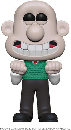 POP! Animation: Wallace & Gromit - Wallace Vinyl Figure