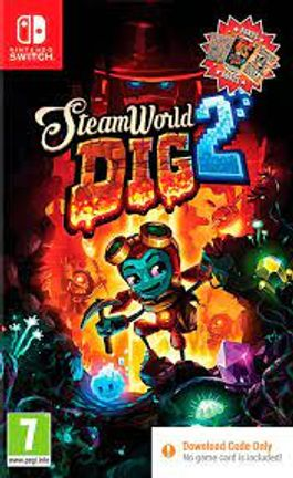 SWITCH SteamWorld Dig 2 (Code in a Box)