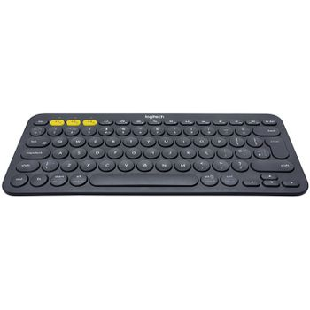 LOGITECH Bluetooth Keyboard K380 Multi-Device - INTNL - Russian Layout - Dark/Grey