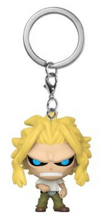 POP! Pocket Keychain: My Hero Academia S6 - All Might (True Form)