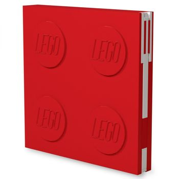 LEGO Stationery - Notebook Deluxe with Pen - Red (524395)