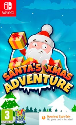 SWITCH Santas Xmas Adventure (Code in a Box)