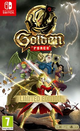 SWITCH Golden Force - Numbered Edition