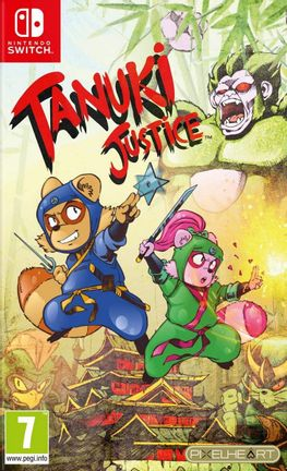SWITCH Tanuki Justice - Limited Edition