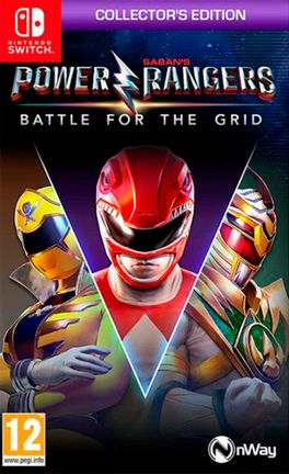 SWITCH Power Rangers: Battle For The Grid - Collectors Edition