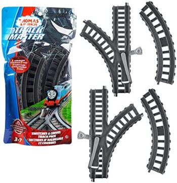 Thomas & Friends: Track Master - Switches and Curves Track Pack Assortment (1 unit)
