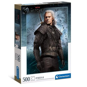 Witcher TV Series - Geralt of Rivia Puzzle, 500 Pieces
