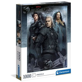 Witcher TV Series - Ciri, Yennefer and Geralt Puzzle, 1000 Pieces