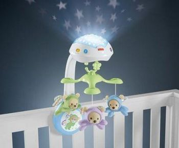 Fisher Price - Butterfly Dreams 3-in-1 Projection Mobile