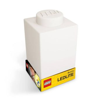 LEGO - Silicone Brick - Night Light w/LED - White