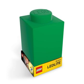 LEGO - Silicone Brick - Night Light w/LED - Green