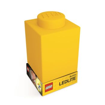 LEGO - Silicone Brick - Night Light w/LED - Yellow