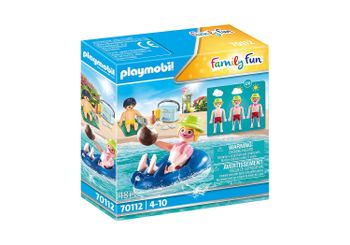 Playmobil - Swimmer with floating tyre (70112)