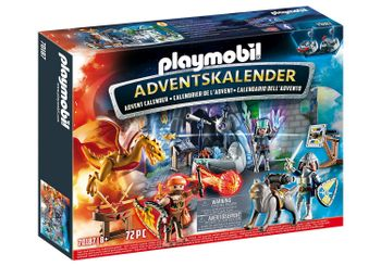 Playmobil - Advent Calendar - Fight for the magic Stone (70187)