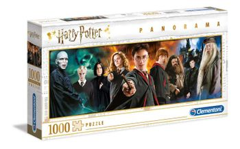 Harry Potter - Characters Panorama Puzzle, 1000 Pieces