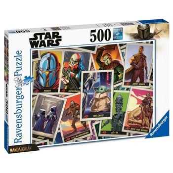 Ravensburger Puzzle - Star Wars: The Mandalorian, 500 Pieces