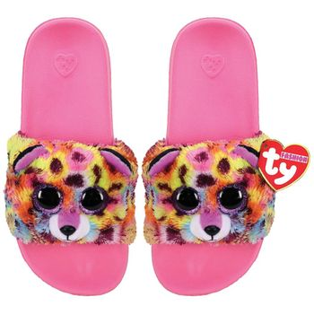 Ty Plush - Slides - Giselle the Leopardcorn (Size: 32-34)