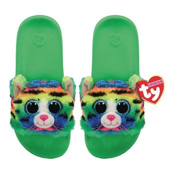 Ty Plush - Slides - Tigerly the Tiger (Size: 36-38)