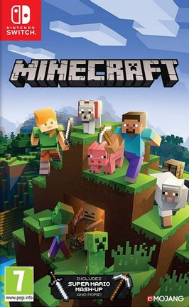 SWITCH Minecraft [USED] (Grade A)