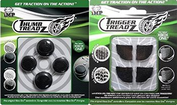 iMP Tech Trigger and Thumb Grips 4 x 4 Pack - Black (Xbox One)