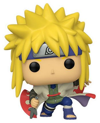POP! Animation: Naruto Shippuden - Minato Namikaze (Bends the Knee) Vinyl Figure