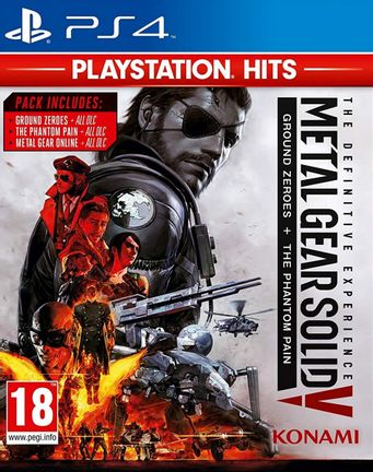 PS4 Metal Gear Solid V: The Definitive Experience [USED] (Grade B)