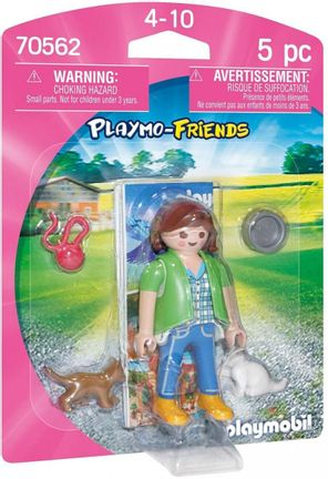 Playmobil Playmo-Friends - Girl with Kittens (70562)