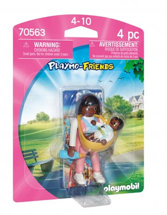 Playmobil Playmo-Friends - Mother with Baby Carrier (70563)