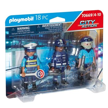 Playmobil City Action - Police Figure Set (70669)