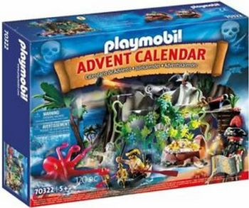 Playmobil Advent Calendar - Pirate Cove Treasure Hunt for the Advent (70322)