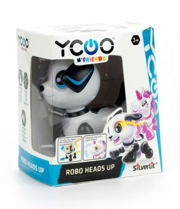 AS Silverlit Yoco N Friends: Robo Heads Up Electronic Robot - Puppy