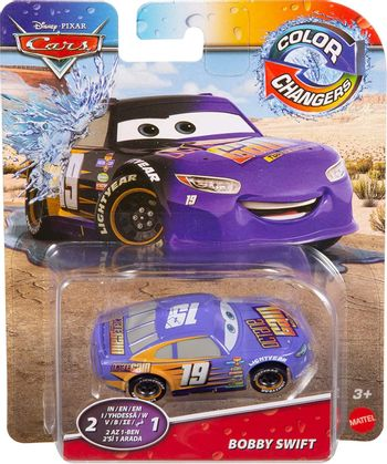 Disney Cars - Color Changers - Bobby Swift