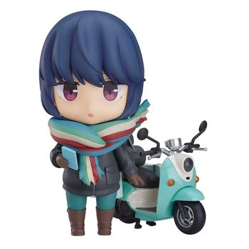 Nendoroid: Laid-Back Camp - Rin Shima (Touring Ver.) Action Figure, 10cm