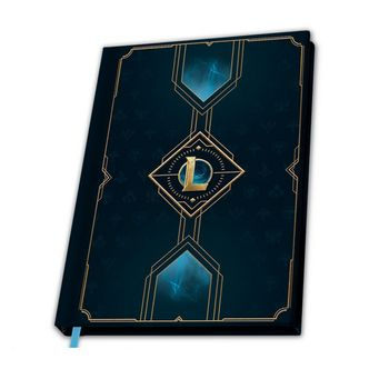 League of Legends Hexteck Logo A5 Notebook